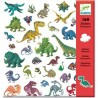 Stickers Papiers Dinosaures...