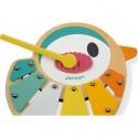 """Xylophone en bois """"Oiseau"""" - Janod"""