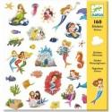 Stickers Papier Sirènes - Djeco