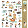 Stickers Papiers Pirates -...