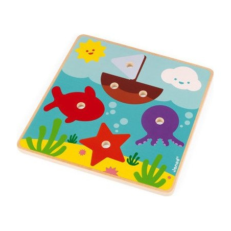 Cartes A Gratter Pastel Le Jardin Fabuleux - Djeco