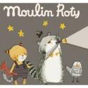 """3 Disques pour lampe à histoires """"Les Moustaches"""" - Moulin Roty"""