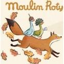 Doudou Mouchoir Souris Jolis Pas Beaux - Moulin Roty