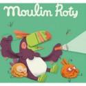 """Boite de 3 disques pour lampe à histoires """"Dans la Jungle"""" - Moulin Roty"""