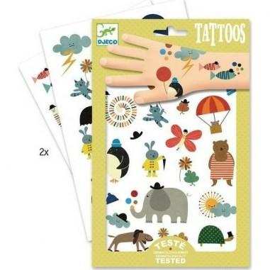 "Tatouages ""Jolies Petites Choses"" - Djeco"