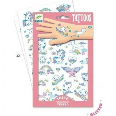 Tatouages Licornes - Djeco