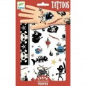 "Tatouages ""Pirates"" - Djeco"