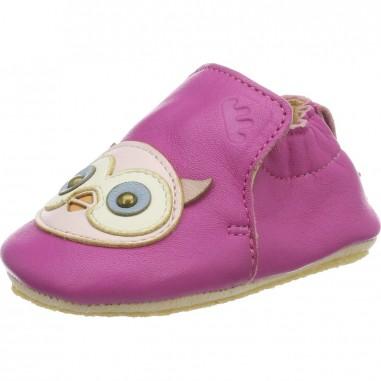 Chaussons en cuir pour bébés Blublu...