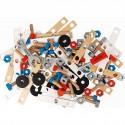 Baril de 100 accessoires en bois - Janod