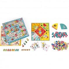 """Puzzle Silhouette """"Cendrillon"""" 36 Pièces - Djeco"""