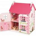 Maison de Poupées en bois Mademoiselle - Janod