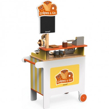 Marchande mobile Stand crêperie...