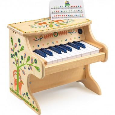 Piano en bois électronique Animambo - Djeco