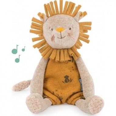 Peluche musicale Paprika le Lion...