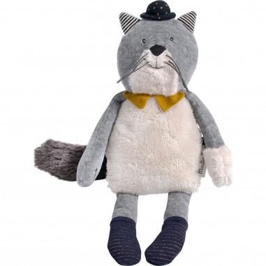 """Peluche Chat gris clair Fernand """"Les..."""