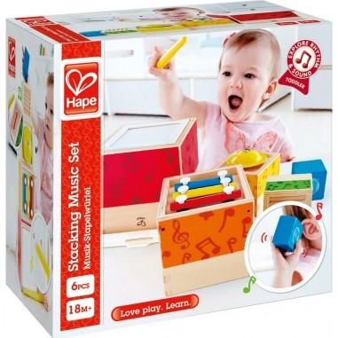 Boites musicales gigognes - Hape Toys