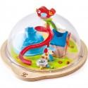 """Jeu magnatique """"Globe d'aventures de la vallée ensoleillée"""" - Hape Toys"""