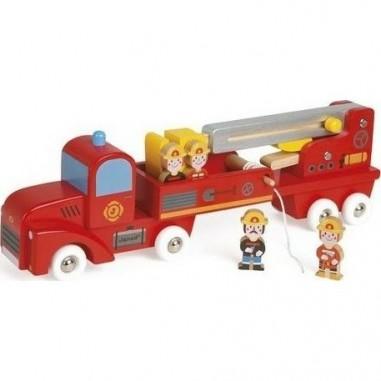 """Camion de Pompiers géant """"Story"""" - Janod"""