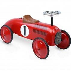 Porteur voiture en métal vintage Rouge - Vilac