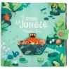 "Grand livre d'activités en tissu ""Dans la Jungle"" - Moulin Roty"