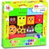 """Cubes en bois sonores """"Savane"""" - Vilac"""