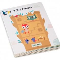 """Livre Puzzle """"1,2,3 Forest"""" - Lilliputiens"""