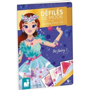 """Carnet créatifs et stickers """"So Fairy"""" - Janod"""