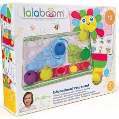 Coffrets de jeux éducatifs et perles 21 pièces - Lalaboom