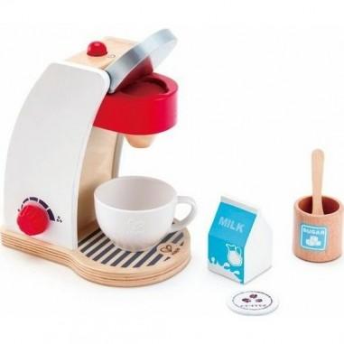 Machine à café blanche - Hape Toys