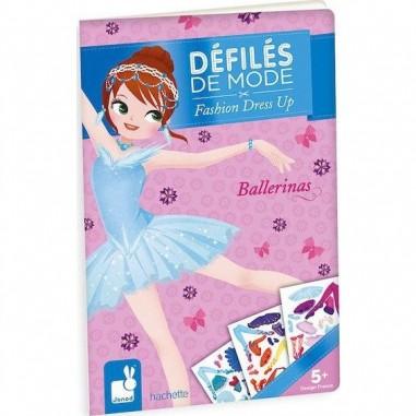 Cahier créatif Ballerines Défilés de Mode - Janod