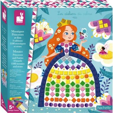 """Coffret mosaïques """"Princesses et..."""