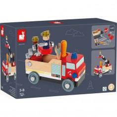 Camion de pompiers à construire Brico'kids - Janod