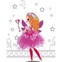Cahier créatif fées à habiller-Défilés de Mode petites fées - Janod