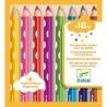 8 Crayons de couleurs pour les petits - Djeco