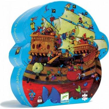 """Puzzle 54 pièces """"Bateau de pirates..."""