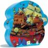 """Puzzle 54 pièces """"Bateau de pirates Barberousse"""" - Djeco"""