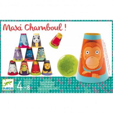 """Jeu de chamboule tout """"Maxi Chamboul""""..."""