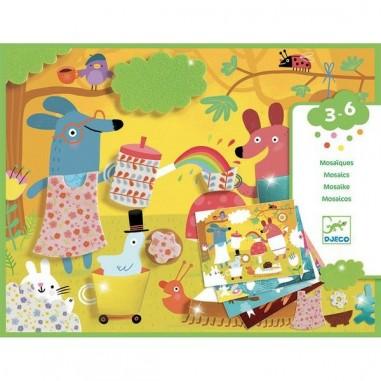 Collage mosaïques pour les petits...