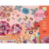 """Coffret de loisirs créatifs """"Flower Box"""" - Djeco"""