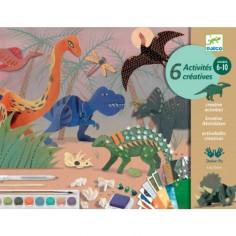 "Coffret de loisirs créatifs ""Dino Box"" - Djeco"