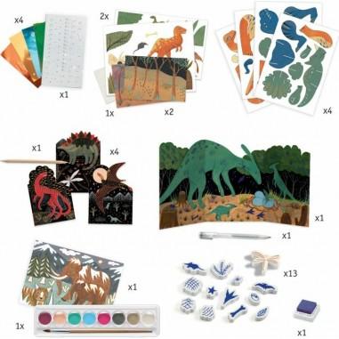 """4 puzzles en bois évolutifs """"Les..."""