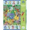 """Puzzle géant 54 pièces """"1 à 10 Jungle"""" - Djeco"""