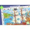 """Puzzle 100 pièces """"Les pirates"""" - Djeco"""