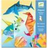 """Pochette d'activité créative Origami """"Animaux Marins"""" - Djeco"""