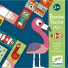 "Jeu de dominos ""Animo Puzzle"" - Djeco"