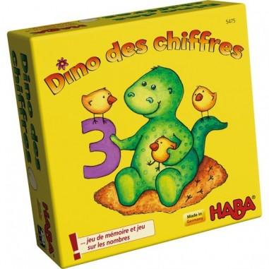 """Jeu de mémo """"Dino des chiffres"""" - Haba"""