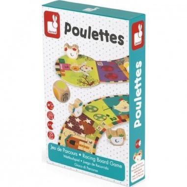 """Jeu de parcours """"Les Poulettes"""" - Janod"""