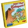 """Jeu de société de collecte """"Hop! Hop! Galopons"""" - Haba"""