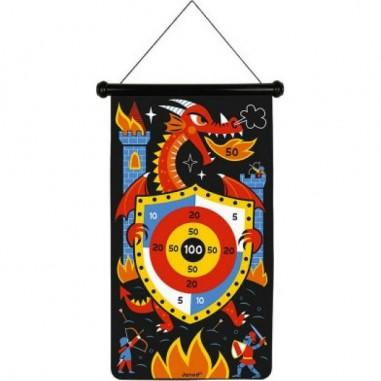 Jeu de fléchettes magnétiques Dragons - Janod
