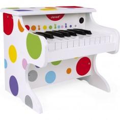 Mon 1er piano en bois électronique - Confettis - Janod